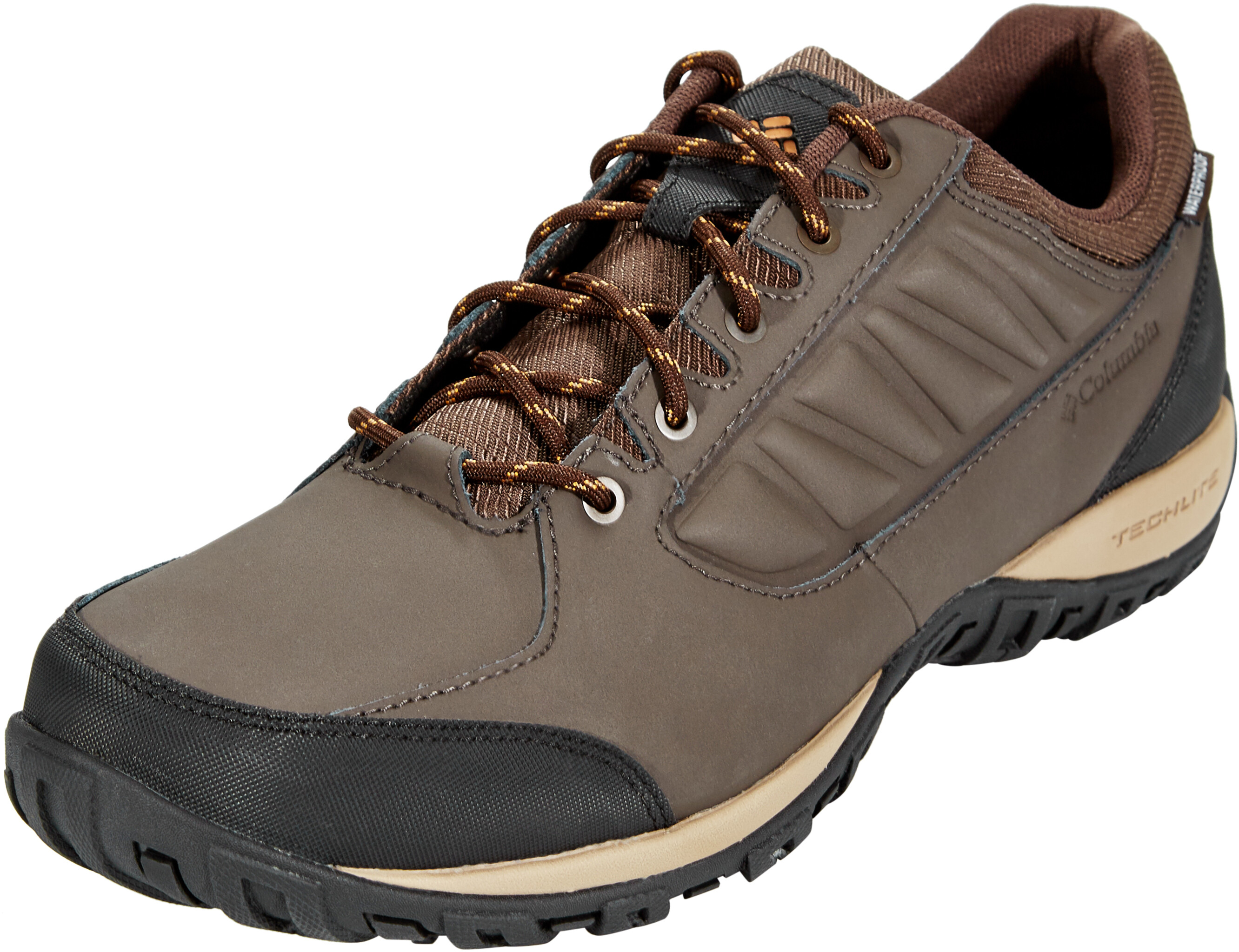 4e1029ff87338c Columbia Ruckel Ridge WP Shoes Men brown at Addnature.co.uk